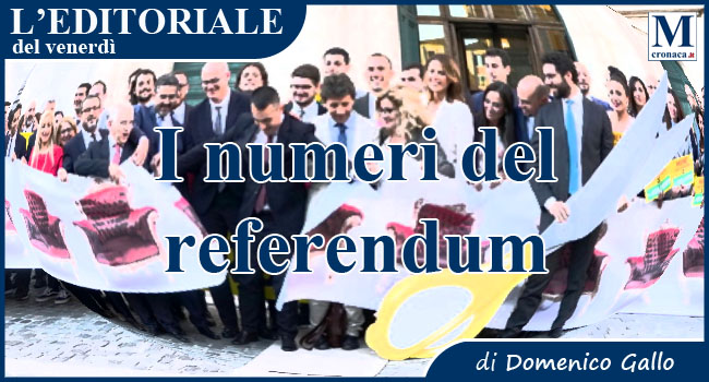 I numeri del referendum