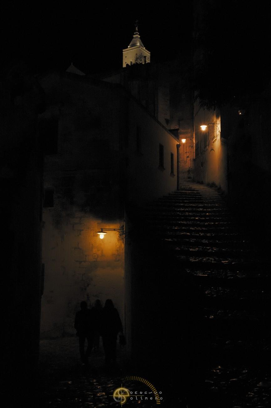 Matera di notte