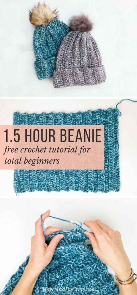 22 Easy Useful Crochet Projects For Beginners Domesblissity