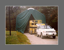 Dome Shelter Portable Storage Sheds Garages And Green