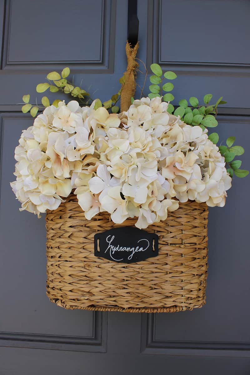 DIY Floral Hanging Basket Domestically Speaking
