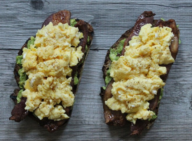 Avocado-Toast-with-spicy-maple-bacon-and-scrambled-eggs-1