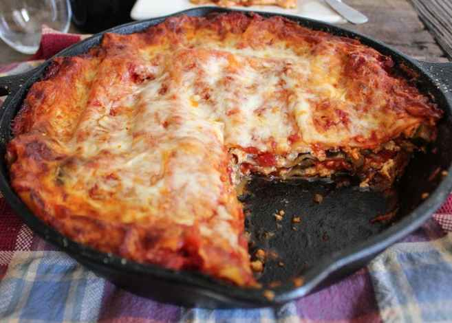 skillet-lasagna-with-turkey-sausage-and-vegetables-4