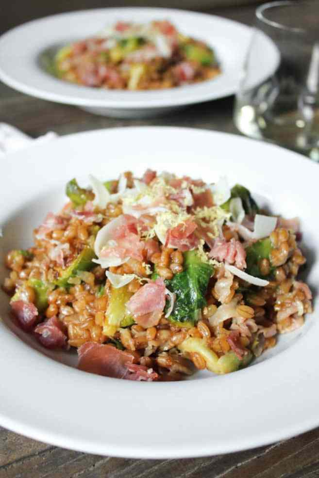 Farro-risotto-with-prosciutto-parmesan-and-brussels-sprouts-14