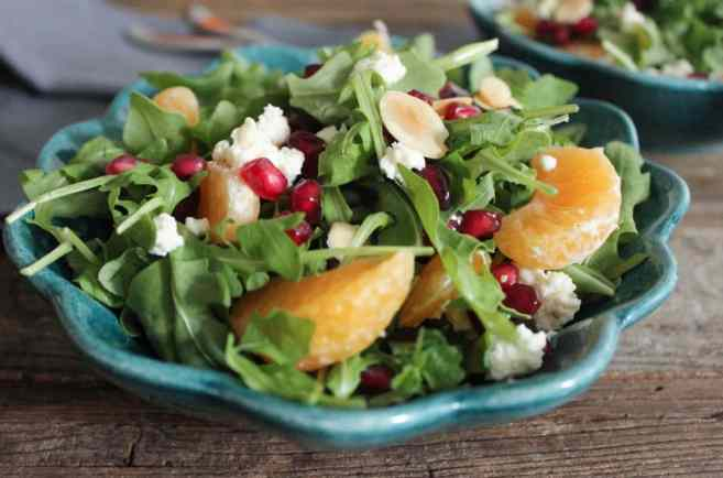 pomegranate-clementine-and-ricotta-salad-with-avocado-and-toasted-almonds-1