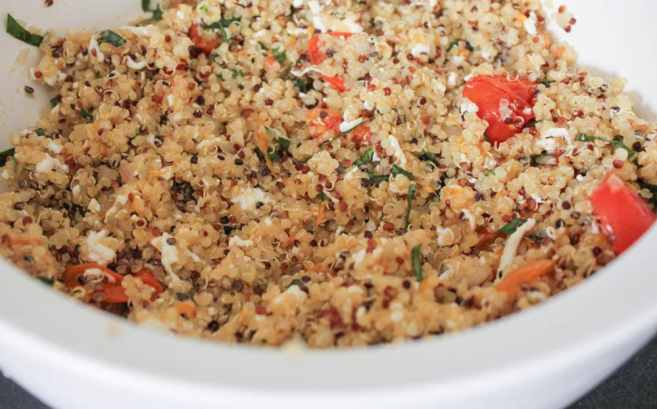 Caprese-Quinoa-Bake-With-Basil-and-Balsamic-Reduction-Step-6