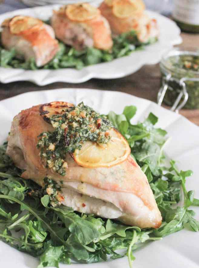 Goat-Cheese-Stuffed-Lemon-Chicken-Breasts-with-Rustic-Basil-Pesto-3