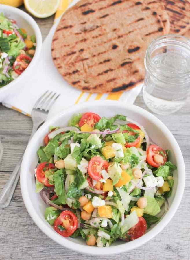 Chopped-Greek-Salad-With-Avocado-Chickpeas-and-Lemon-Dressing-3