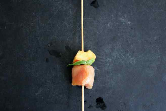Sriracha-glazed-grilled-chicken-skewers-with-peaches-and-basil-step-6