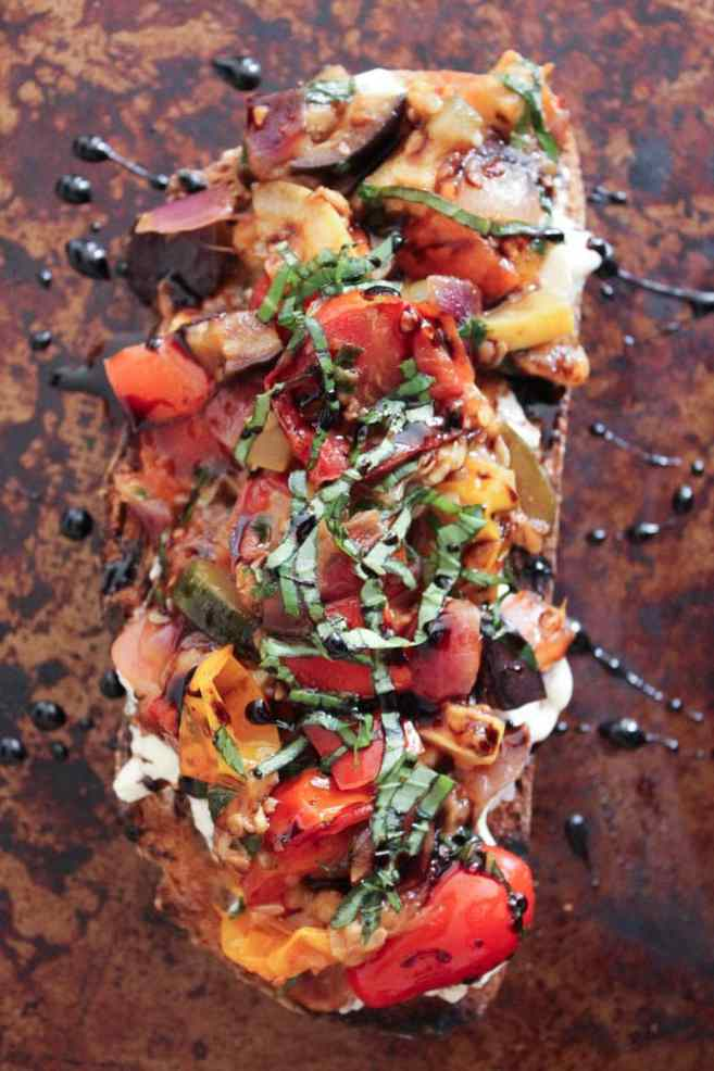 Ratatouille-Tartines-with-burrata-and-honey-balsamic-drizzle-13