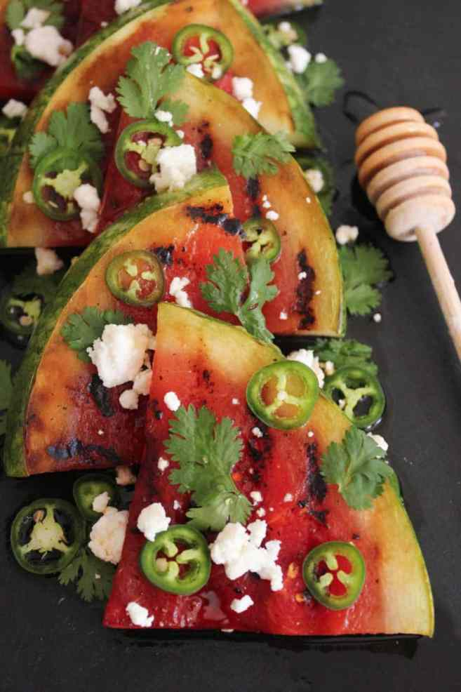 Grilled-Watermelon-with-Jalapeños-Feta-and-Honey-2