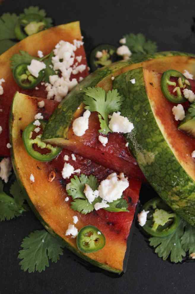 Grilled-Watermelon-with-Jalapeños-Feta-and-Honey-6