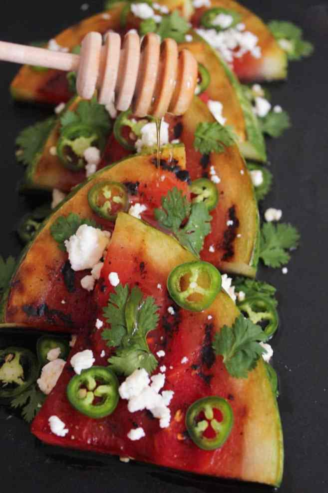 Grilled-Watermelon-with-Jalapeños-Feta-and-Honey-step-8