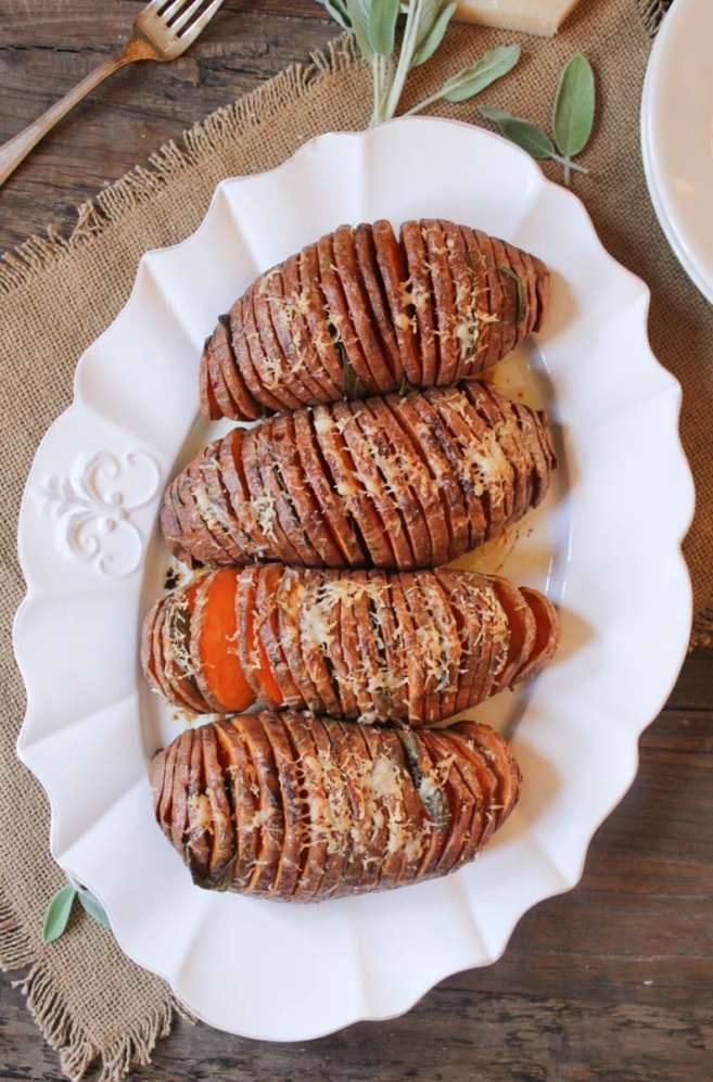 Hasselback-Sweet-Potatoes-with-Sage-and-Parmesan-2