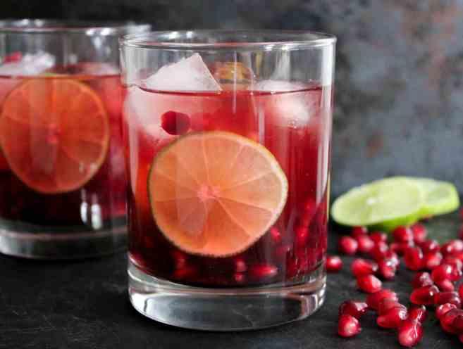pomegranate-vodka-gimlet-cocktail