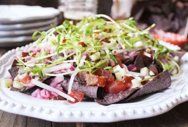 Ahi-Nachos-with-pickled-red-onion-wasabi-crema-7