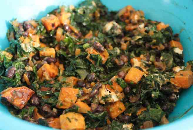 vegetarian-enchiladas-with-sweet-potato-black-bean-kale-step-5