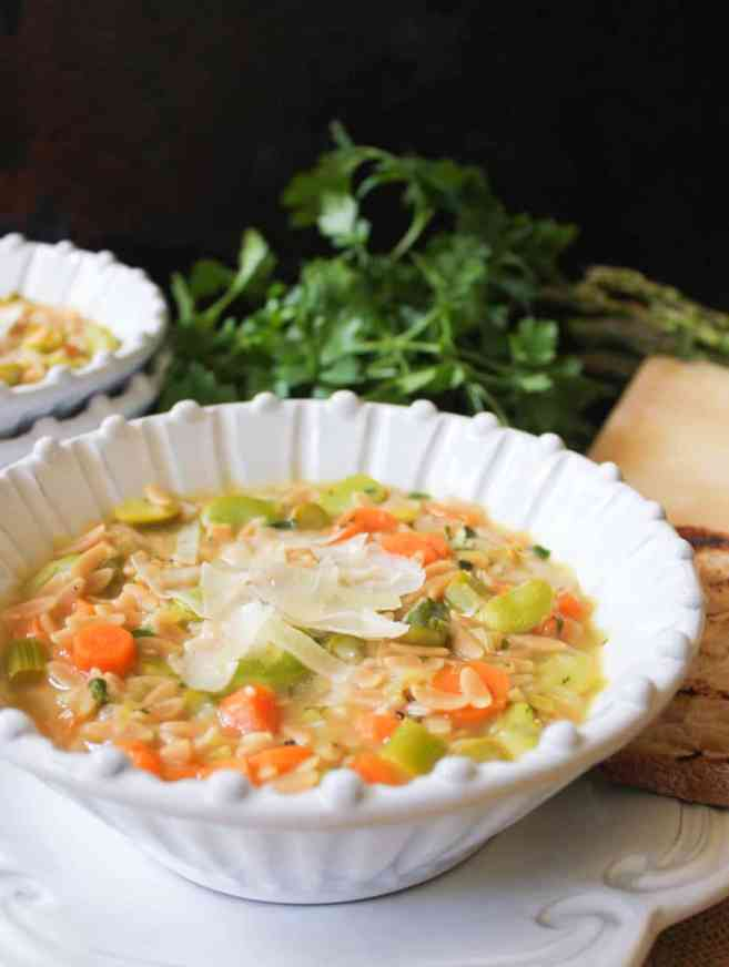 Lemon-orzo-soup-with-spring-vegetables-and-parmesan-2