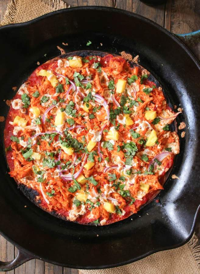 chipotle-chicken-tortilla-pizzas-with-pineapple-and-cilantro-2