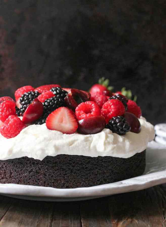 Foolproof-Chocolate-Cake-With-Whipped-Cream-and-Berries-10
