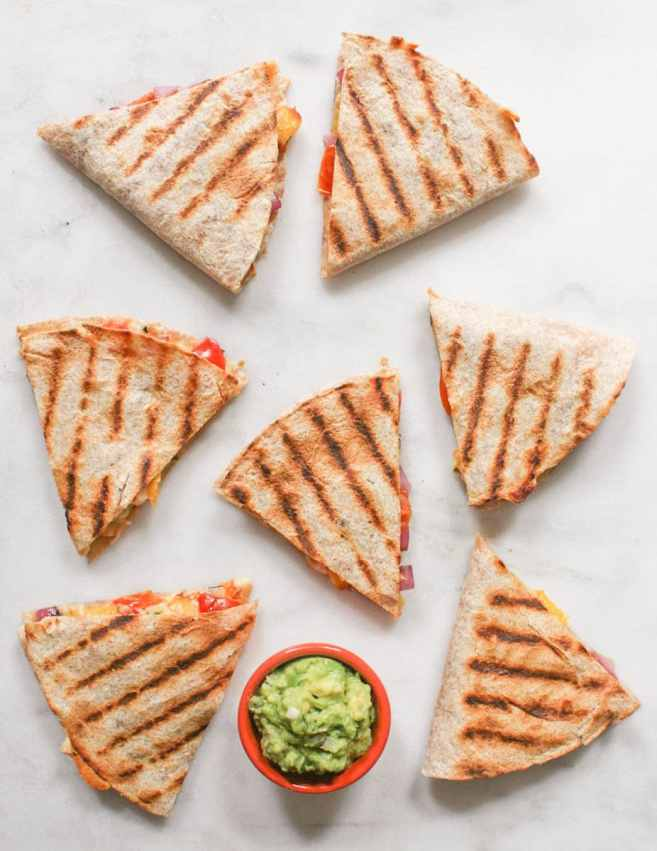 Grilled-Peach-and-Cherry-Tomato-Quesadillas-14