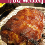 Bacon Covered BBQ Meatloaf
