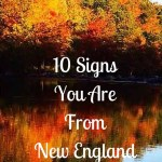 10 Signs You Are From New England