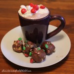 M&M's® Peanut Butter Truffles with Funfetti® Hot Chocolate