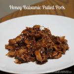 Honey Balsamic Pulled Pork