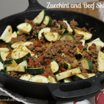 Zucchini and Beef Skillet