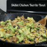Skillet Chicken Burrito Bowl