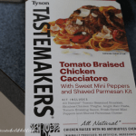 Tyson Tastemakers: Tomato Braised Chicken Cacciatore