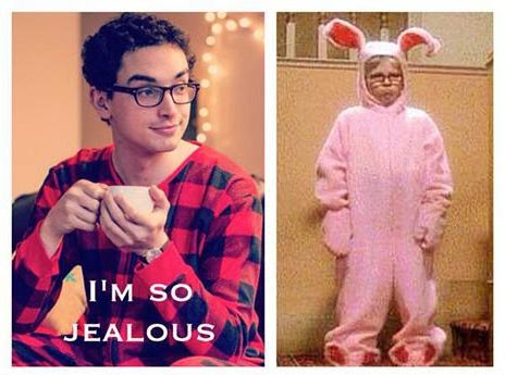 Pajama Boy vs Ralphie