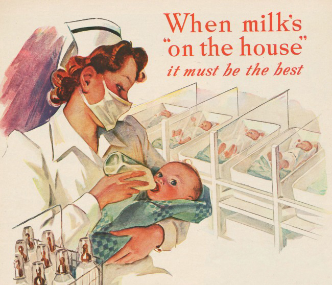 A History Of Baby Formula How Emergency Baby Food Became