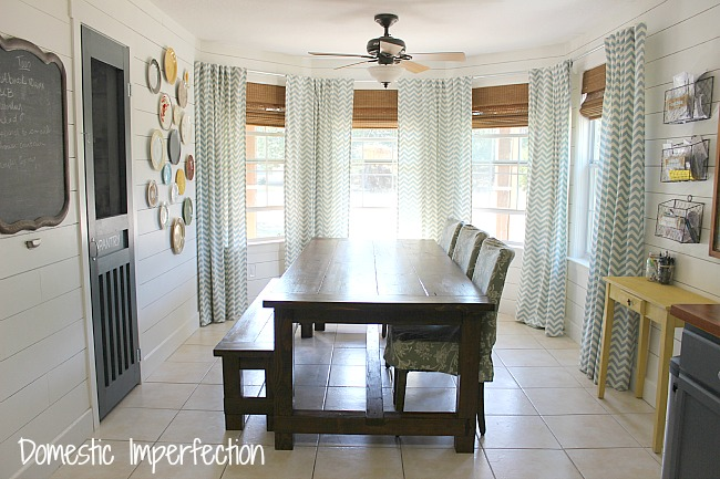 How To Make Your Own Curtain Rods On The Cheap - Domestic ... on Farmhouse Curtain Ideas  id=42718