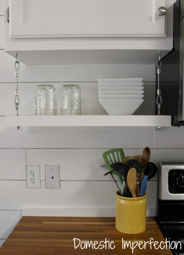 how to raise your kitchen cabinets to the ceiling - domestic
