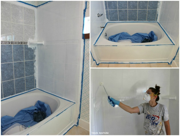 how to refinish outdated tile yes i