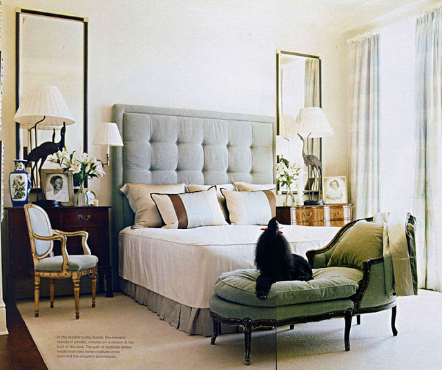 10 Ways to Decorate Above your Bed - Domestic Imperfection on Mirrors Next To Bed  id=62710