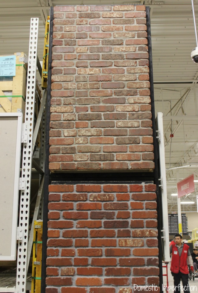 floor and decor brick