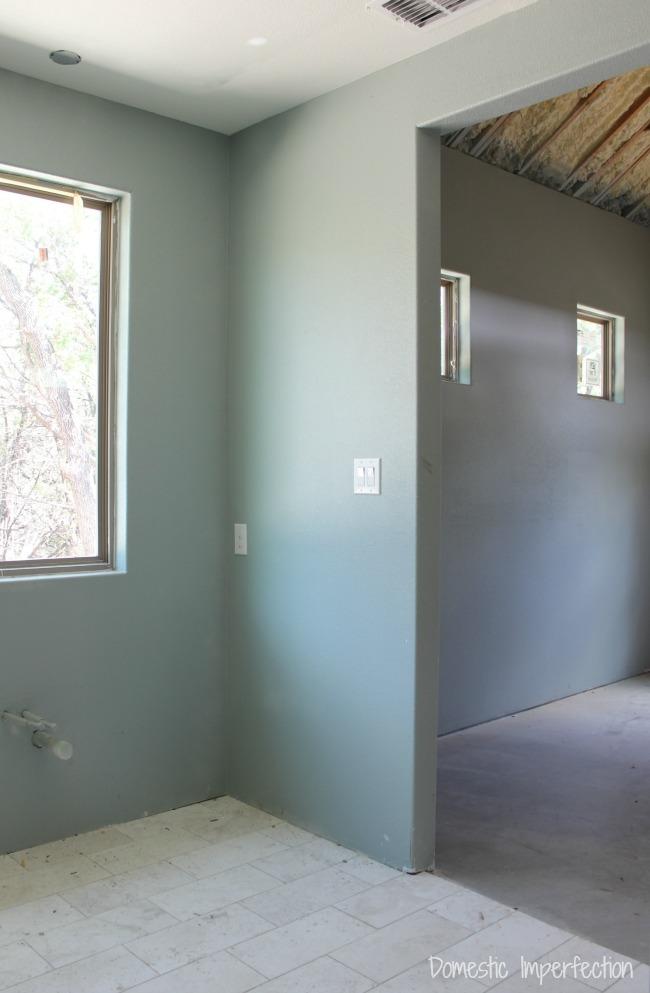 Painted Interior Sherwin Williams Silvermist Amp Shoji