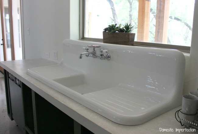 the search for a vintage farmhouse sink
