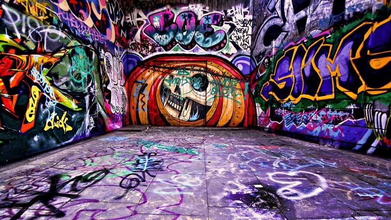 graffiti-mural-Domestico-alicante Limpieza de Grafittis
