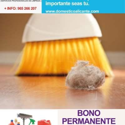 BONOPERMANENTE6-domesticoalicante Limpieza del Hogar - Doméstico Alicante