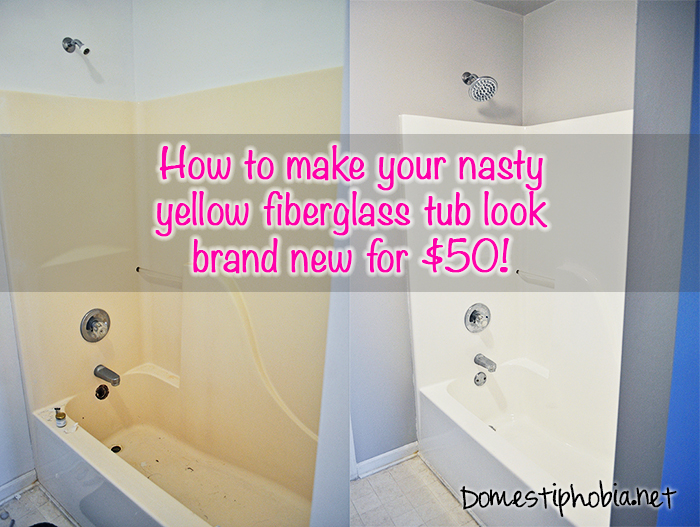 How To Refinish Your Bathtub For 50