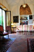 Relaxing lounge.