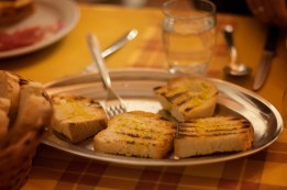 Grilled Tuscan bread
