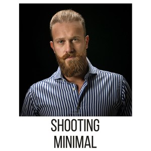 shooting fotografico minimal