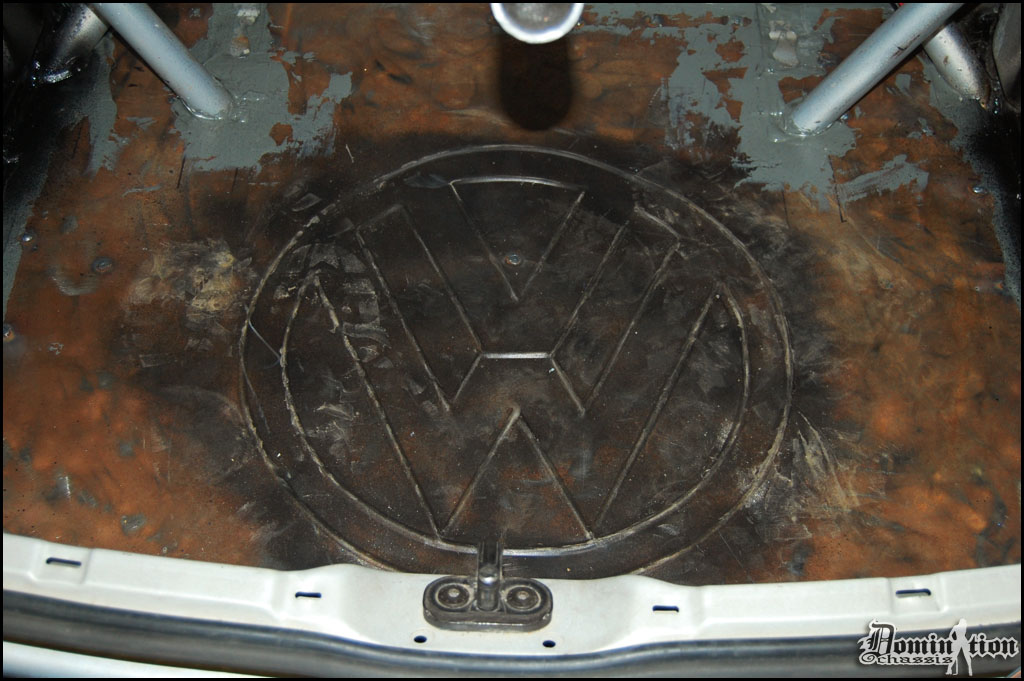 VW Logo Bead Rolling