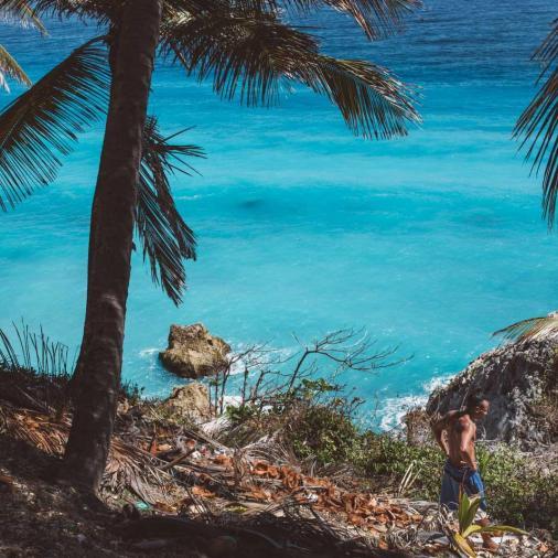 Barahona coastline