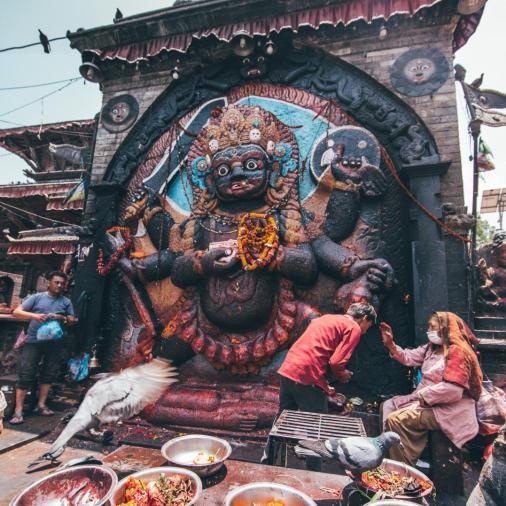 kathmandu square religion